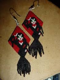 seed bead tutorial earrings also include wizard earrings and