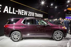 chevrolet traverse 2018 chevrolet traverse review first impressions and photo