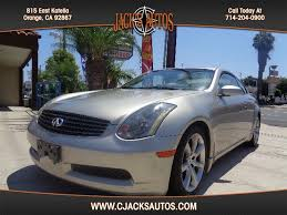2004 Infiniti G35 Coupe Interior 2004 Infiniti G35 Coupe For Sale In Orange Ca From Cjacks Autos Inc