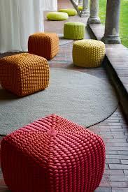 arredo knit designer pionieri del cambiamento cord garden seat