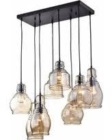 Mariana Lighting Fixtures Sweet Deal On Mariana Cognac Glass Cluster Pendant In Antique