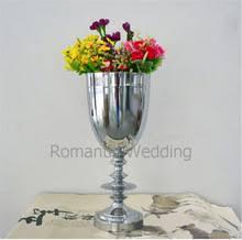 Silver Vases Wedding Centerpieces Popular Silver Vase Centerpiece Buy Cheap Silver Vase Centerpiece