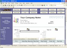 Invoice Template For Excel 2007 Invoice Templates Excel Invoice Manager