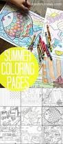 25 unique summer coloring pages ideas on pinterest mandals