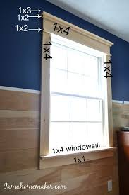 mobile home interior trim simple diy farmhouse window trim farmhouse style window