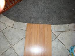 Laminate Flooring Over Concrete Slab Wood Floor Over Tile Floor And Decorations Ideas