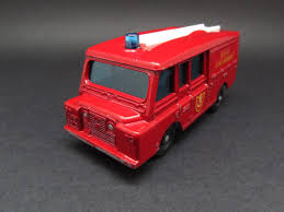 matchbox land rover defender 110 white diecast hobbist 1966 matchbox lesney no 57 c land rover fire truck