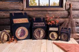 coffee themed kitchen canisters 37 rustic kitchen canister sets primitive americana rustic