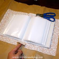 make a photo album simple gifts fabric covered photo album fabric covered