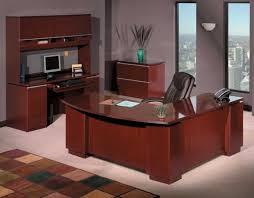 L Shape Executive Desk L Shaped Executive Desk Beachcrest Home Bowerbank Regarding