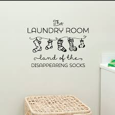 land of disappearing socks wall quotes decal wallquotes