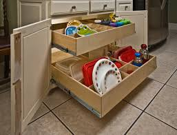 pull out cabinet shelves make cooking easier in porter homes