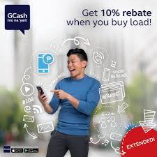 get a load of all gcash our 10 rebate when you buy load to all networks