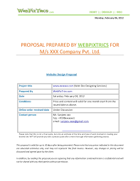 cost proposal template sample preparing cost proposals cost