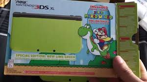 amazon 3ds bundle black friday new 3ds xl lime green yoshi amazon exclusive unboxing youtube