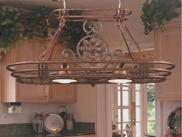 oil rubbed bronze pot rack with lights meyda tiffany 152951 moose at lake rustic oil rubbed bronze