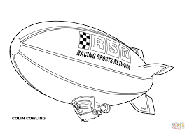 disney planes blimp colin cowling coloring free printable