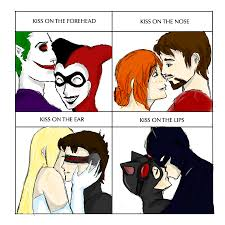 Cute Couple Meme - favorite comics couples kiss meme by kilimiria on deviantart