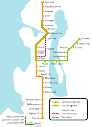 Seattle Light Rail Stops Start Planning Your 2020 Or 2023 Commute Surrounded By Water
