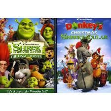 shrek donkey u0027s christmas shrektacular 2 pack