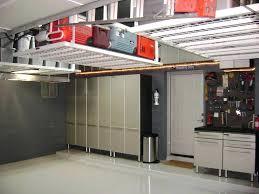 creative overhead garage storage ideas ceramic tile floor home and