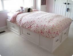 Diy Bed Platform Bedroom Charming Diy Twin Platform Bed Frame More About Diy Twin