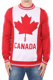 canada sweater s striped canada sweater tipsy elves