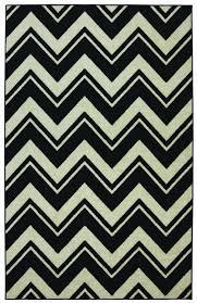 Zebra Rug Pottery Barn by Black And White Chevron Rug 8 10 Roselawnlutheran