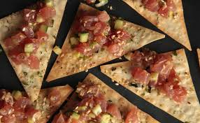 ahi tuna poke nontraditional thanksgiving menu pictures