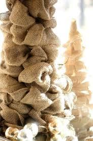 burlap tree skirt burlap santa ruffled mini