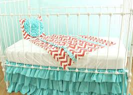 Navy Blue Chevron Crib Bedding by Coral Crib Bedding Set Bedroom Ideas