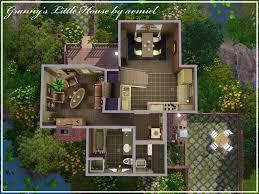 mod the sims granny u0027s little house