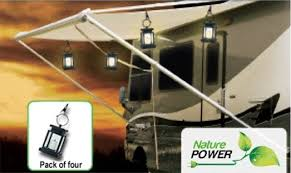 Awning Lights For Rv Solar Powered Candle Lantern Awning Light
