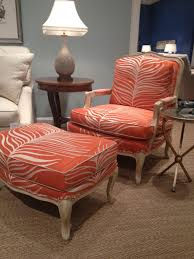 Animal Print Furniture by Pearson Furniture Fab Orange Animal Print Chair Hpmkt Gretchen