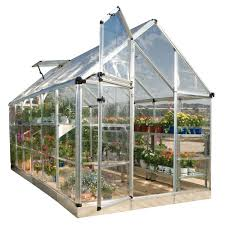 Greenhouse 6x8 Metal Greenhouses Greenhouses U0026 Greenhouse Kits The Home Depot
