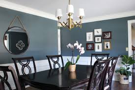 Gray Dining Room Ideas by Dining Room Makeover Erin Spain