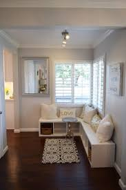 how to create a foyer in an open living room home