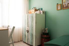 Shabby Chic Designer by Ikea Armoire In Home Office Shabby Chic With Designer Built In