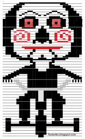 Saw Doll Meme - billy the puppet jigsaw copy paste text art cool ascii text