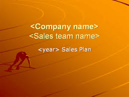 yearly sales plan presentation 2 powerpoint templates