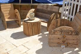 touret bois deco beautiful salon de jardin avec un touret gallery home design