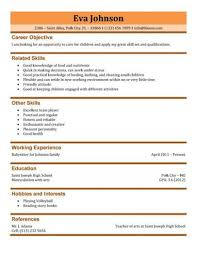 babysitting resume template resume sle it out template and