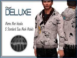 Hoodie Meme - second life marketplace angel deluxe meme hoodie mesh