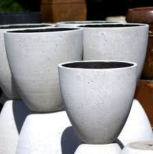 white egg planter pots store