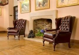 Wingback Armchair Uk Chesterfield Leather Sofa Traditional Leather Sofas