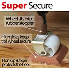 amazon com newest bed stopper furniture stopper caster cups