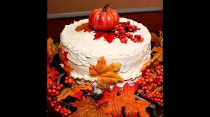 beautiful fall birthday cake decorating ideas youtube