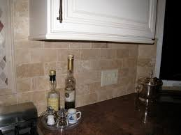 Travertine Backsplash Proscons - Travertine tile backsplash