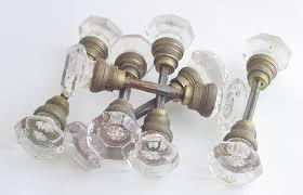Vintage Glass Door Knobs by Antique Door Knobs Antique Glass Door Knobs Brass Hardware