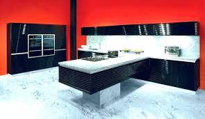 cuisine noir laqué pas cher cuisine laquee cuisine moderne meuble de cuisine noir laque